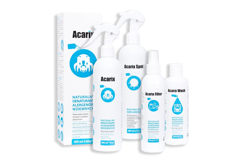 acarix naturalnie na roztocza
